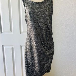 Nordstrom FreePress Metallic Dress